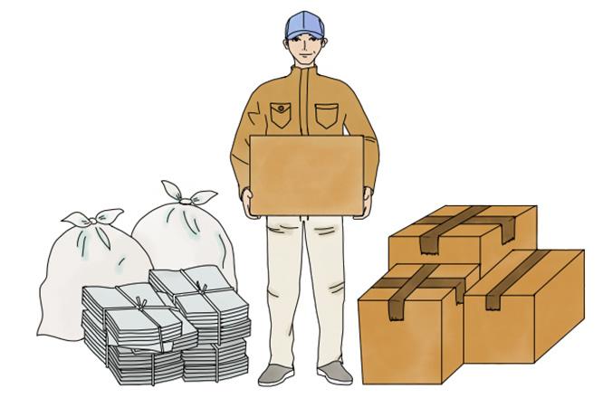 事務系一般廃棄物収集運搬処理